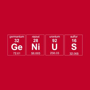 genius element t shirts